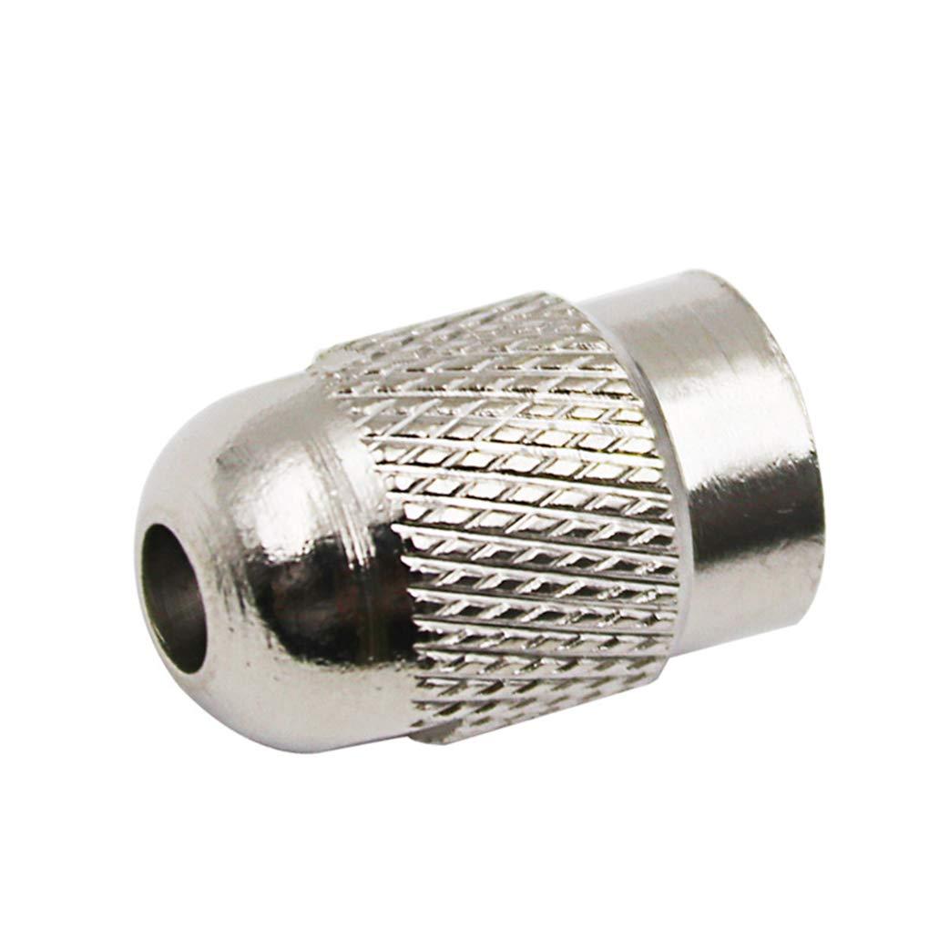 Set Brass Mandrins Collet Bits 0.5-3.2mm 4.3mm Shank Vis de Remplacement Ecrou pour Outil Rotatif Dremel Fornateu 11pcs