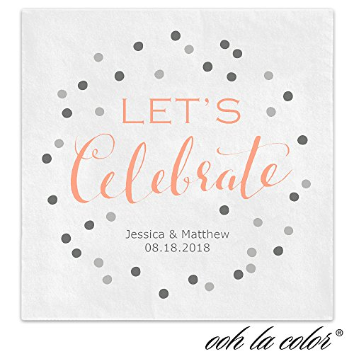 Celebrate Confetti Personalized Beverage Cocktail product image