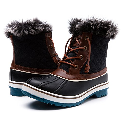 Global Win Women's1632-4 Snow Boots SZ-9M US by Global Win