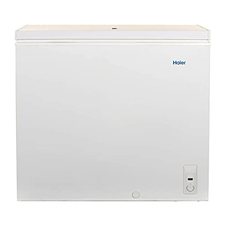 amazon com haier chest freezer 7 1 cu ft freezer capacity rh amazon com Haier Room Air Conditioner Manual Haier Portable Air Conditioner Room