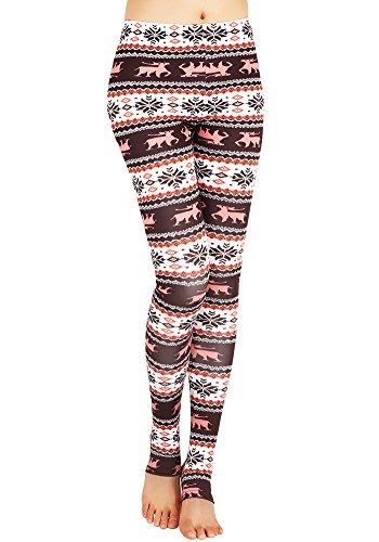 CinGr8 Women's Costume 3D Printed Leggings Foot Stirrups Stretchy Yoga Pants