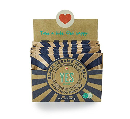 The YES Bar Paleo Protein Bars Healthy and Pure Paleo Snack Bars Natural Gluten Free Soy Free and Dairy Free Nutrition Bars for Meal Replacement or After Workout
