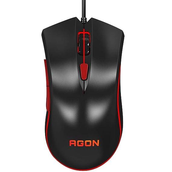 Mouse Usb Óptico Led 4000 Dpis Agon Agm3050/d AOC
