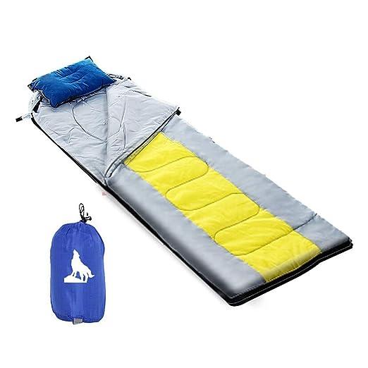 LVJING Cálido Saco de Dormir Doble 190 + 30 * 75 Saco De ...