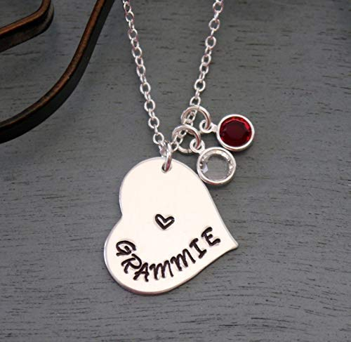 Amazon Com Grammie Necklace Grammie Gifts Grandma Necklace