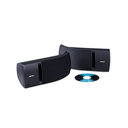 amazon com bose 161 speaker system (pair, black) home audio \u0026 theaterbose 161 speaker system (pair, black)