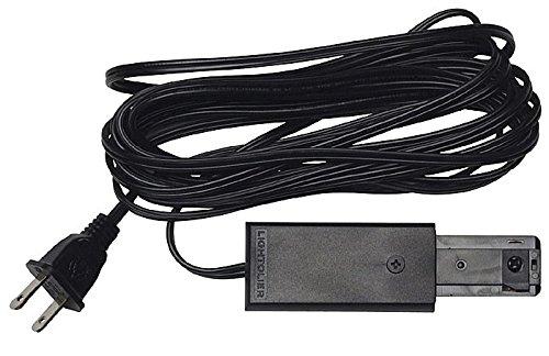Radius Cord and Plug Connector Finish: Black - Lightolier Cord