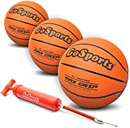 """GoSports 7"""" Mini Basketball 3 Pack with Premium Pump - Perfect for Mini Hoops or Tra"""