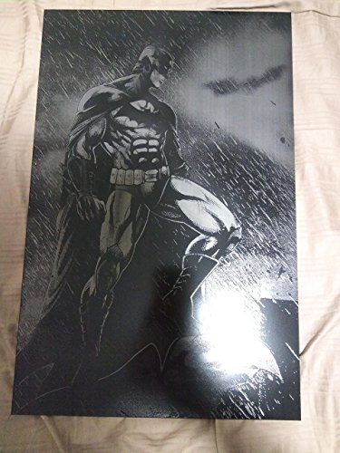 Batman Gargoyle Metal Painting Bat Man DC Comics Justice League Spray Paint Art - Spray Paint Stencil Art