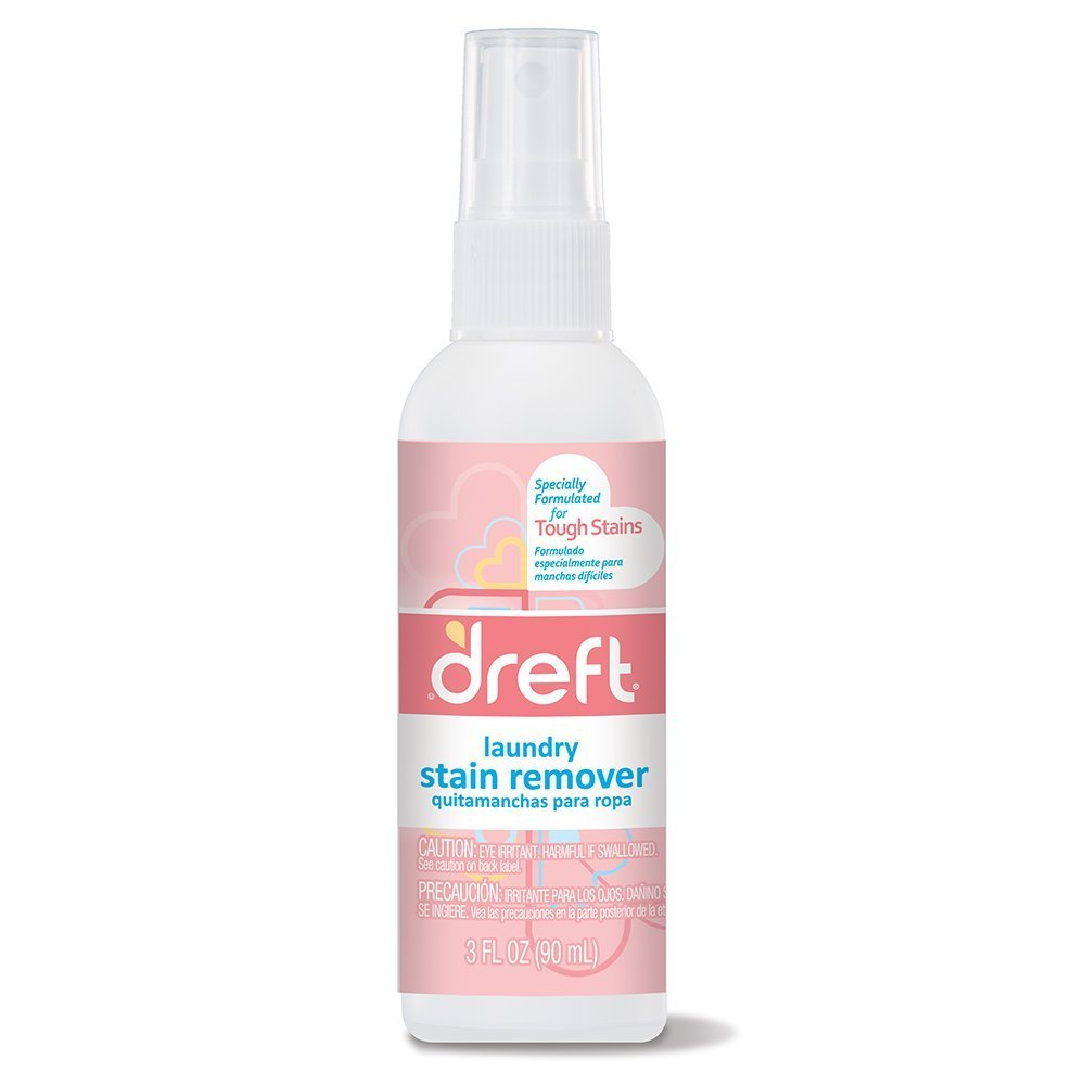 Dreft Stain Remover - 3oz Travel Size - (Pack of 4) by NEHEMIAH MANUFACTURING (Image #2)