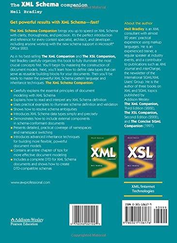 The XML Schema Companion: Amazon.es: Neil Bradley: Libros en idiomas extranjeros