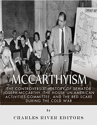 the red scare and mccarthyism were similar in that both