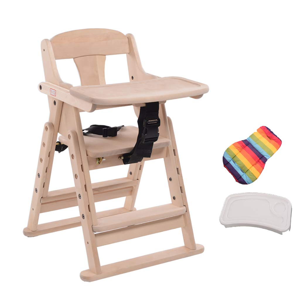 赤ちゃんの高いスツール食べるチェア子供ダイニングチェアシート単線の折り畳み式伸縮式の調節可能な高さ (サイズ さいず : B) B  B07L8DVX75