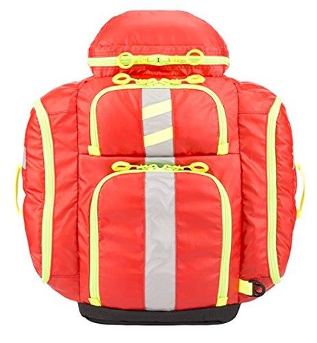 StatPacks G3 Perfusion EMS Medic Backpack Bag Red Stat (Stat Packs Quickroll Intubation Kit)