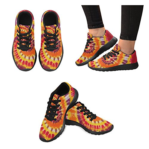 Interestprint Femmes Jogging Running Sneaker Léger Aller Facile À Pied Casual Confort Sportif Chaussures De Course Multi 7