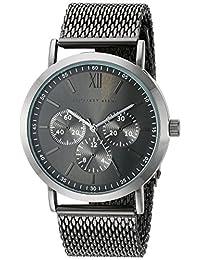 Geoffrey Beene Men's GB8069GU Analog Display Japanese Quartz Grey Watch