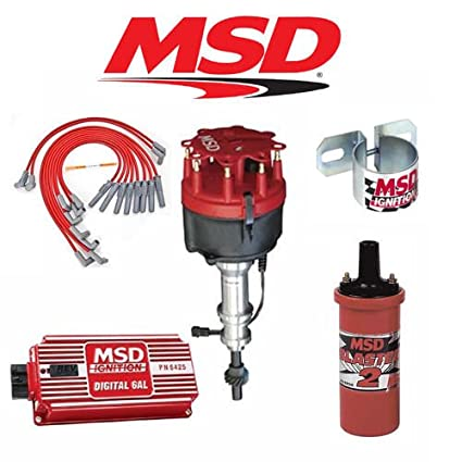 amazon com msd 9017 ignition kit digital 6al distributor wires rh amazon com