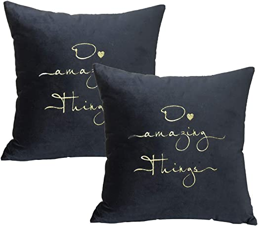 """4 22/"""" Trendy grey 3 Panel cushion covers 3 shades of grey linen."""