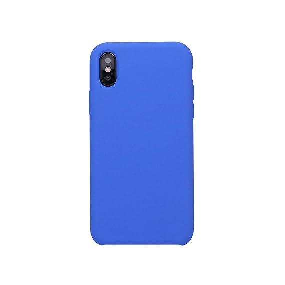lowest price 06171 0ff60 Amazon.com: Original Silicone Case for iPhone X 8 8 Plus for Phone ...