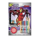 Crayola Colour Alive-Avengers