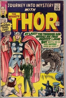 Journey Into Mystery with the Mighty Thor, Vol 1 #113 (Comic Book)