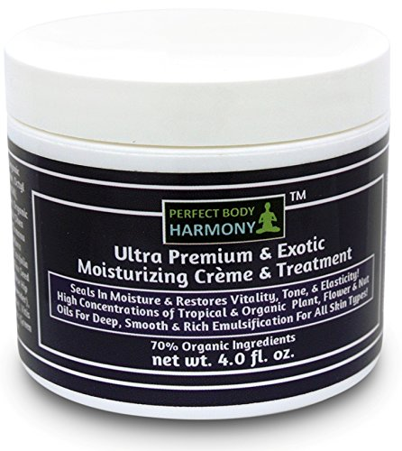 Ultra Nutrient Moisturizing Creme; Exotic Hydrating Cream; 70% Organic; Tropical Plant, Flower & Nut Oils Support Restoration of Vitality, Tone, Elasticity & Smooth, Rich Emulsification. For Sale