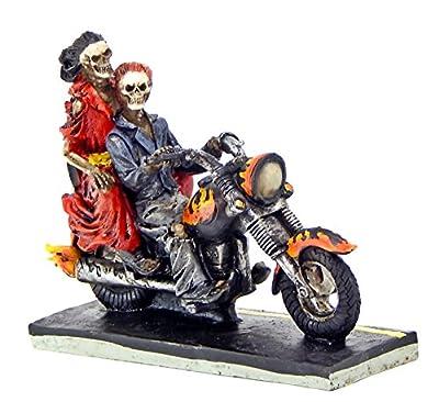 Ghost Rider Love Never Dies Biker Skeleton Riders Motorcycle Collectible Figurine