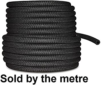 10mm 3//8 Car Fuel Rubber Braided Hose Pipe Petrol Diesel Unleaded Injection