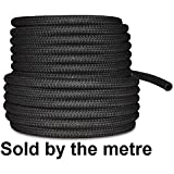 """6mm 1/4"""" Car Fuel Rubber Braided Hose Pipe Fuel Petrol Diesel Unleaded Injection"""