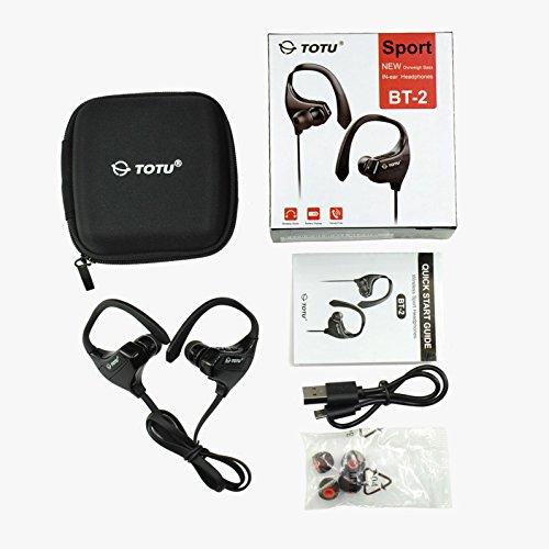 Acquisition TOTU BT-2 V4.1 Bluetooth Headphones Wireless Music Stereo Sports Headset, Black discount