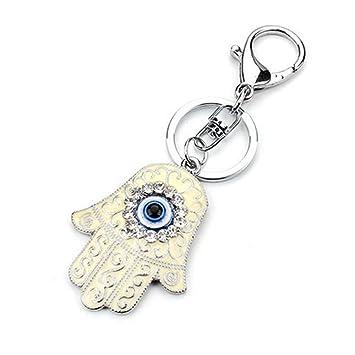 Muzuri - Llavero fengshui de mano con diseño de ojo turco ...