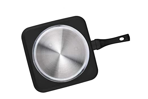 Grunkel - Sartén grill cuadrada antiadherente ecológica de ...