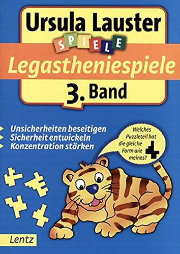 Legastheniespiele 3 (Ursula Lauster Lernspiele) Taschenbuch – 2002 Lentz 3880107467 Abiturwissen Lernhilfen
