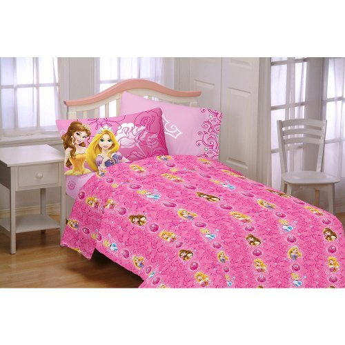 Disney's Princess Shine All The Time Full Sheet Set