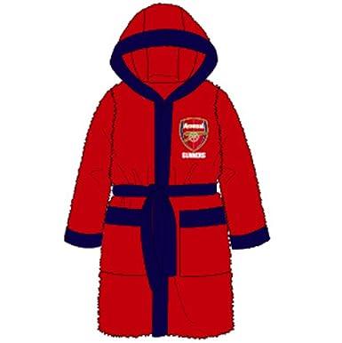 Mens Football Fleece Dressing Gown Tottenham Chelsea WEST HAM ...