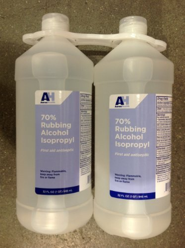 Rubbing Alcohol Isopropyl 32Ounce 2PACK (32 Oz Rubbing Alcohol)