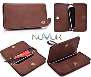 """Brown Genuine Leather