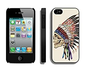 Apple Iphone 4s Case Durable Soft Silicone TPU Cool Death Skeleton Designer Black Cell Phone Case Cover for Iphone 4