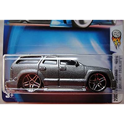 HOT WHEELS 2003 FIRST EDITIONS 40/42 GRAY CADILLAC ESCALADE #052: Toys & Games