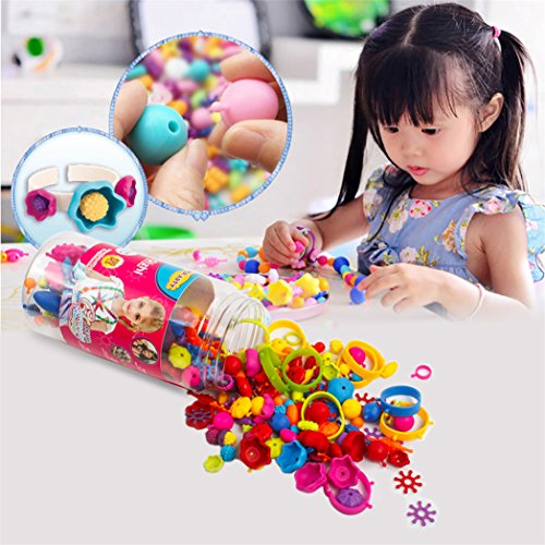 Art Toys For Girls : Snap beads set picowe kids jewelry making kits for