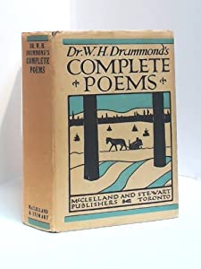 Hardcover Dr. W. H. Drummond's Complete Poems Book