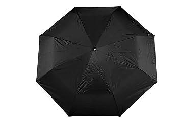 9e358ed91 Bizarro Unisex Polyester Plain 3-Fold Umbrella with Matching Handle (Black)
