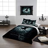 "Alchemy Gothic Nevermore USA King Duvet/comforter Cover Set 102""x90"""