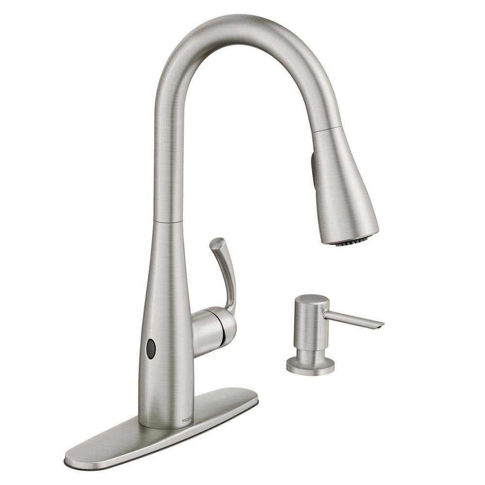 Moen Essie 87014EWSRS Kitchen Faucets