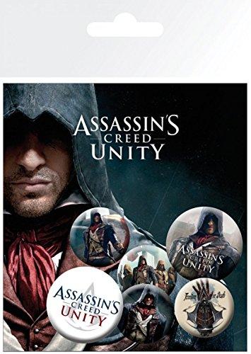 cm Pegatina 4 15x10 sorpresa y personajes de x de Assassin's 32 Creed 2 1art1 mm Paquete 25 1x Set Unity mm de insignias xqnHSU1Y