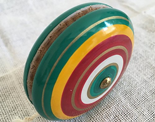 Amazon.com: Mexican yoyo - hand crafted Yoyo ~ hand painted ...