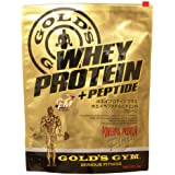 GOLD'S GYM ホエイプロテイン プラス ペプチド&ビタミンB プレーン900g