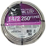 AFC CABLE SYSTEMS 2101S42-AFC 250' 14/2MC W/G Conduit