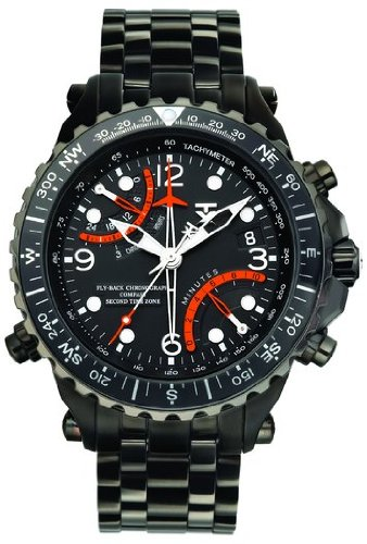 TX Men's T3B921 730 Series Classic Fly-back Chronograph Dual-Time Zone Watch
