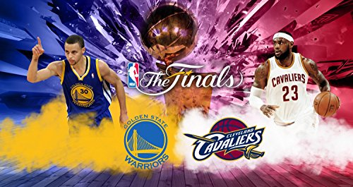 Cleveland Cavaliers Golden State Warriors NBA Finals Basketball Limited Print Photo Poster Lebron James Stephen Curry Size 11x17 #1